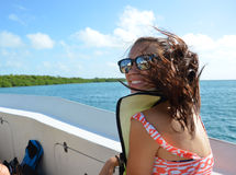 Snorkel Excursie royalty-vrije stock foto