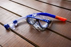 Snorkel and face mask Royalty Free Stock Photography