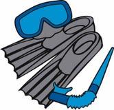 Snorkel Gear Stock Image