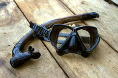 Snorkel i maska Zdjęcie Stock