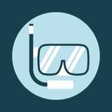 Snorkel icon Stock Photography