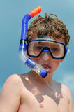 Snorkel Kid Stock Photography