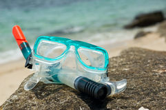Snorkel and mask Royalty Free Stock Photography