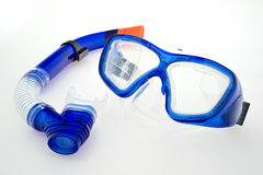 Snorkel mask. Sport eguipment as snorkel mask Stock Photos