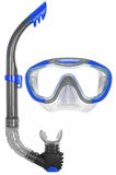 Snorkel and Mask for Diving Royalty Free Stock Photos