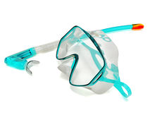 Snorkel and Mask for Diving Royalty Free Stock Images