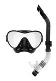 Snorkel and Mask for Diving Stock Photos