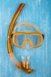 Snorkel mask Royalty Free Stock Image