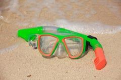 Snorkel materiaal - Voorraadbeeld royalty-vrije stock foto's