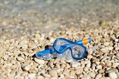 Snorkel och maskera Royaltyfri Foto