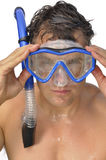 Snorkeler Stock Photography