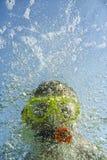 Snorkeler Fotos de archivo libres de regalías