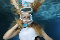 snorkeler Lizenzfreies Stockbild