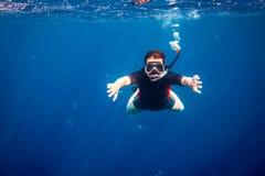 Snorkeler Stock Image