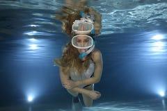 Snorkeler Stock Photography