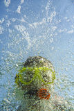 Snorkeler Royalty Free Stock Photos