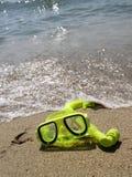 Snorkelgoggles Fotografering för Bildbyråer