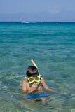 Snorkeling Stock Image