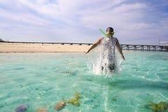 Snorkeling Stock Photos