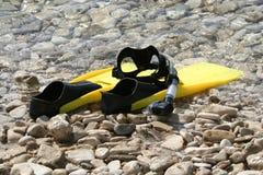 Snorkeling fotos de stock