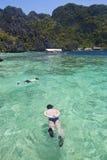 Snorkeling obraz royalty free