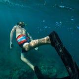 Snorkeling Obrazy Stock
