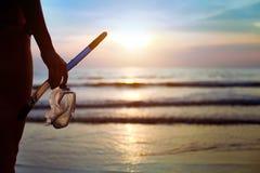 Snorkeling Imagens de Stock Royalty Free