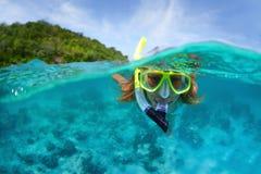 snorkeling images libres de droits