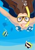 snorkeling Royalty-vrije Stock Afbeeldingen