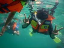 snorkeling стоковое фото rf