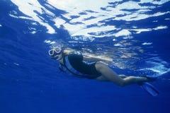 Snorkeling Stock Photo