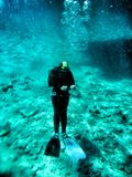 Snorkeling and diving in Red sea Stock Photography
