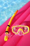 Snorkeling equipment Royalty Free Stock Photography