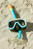 Snorkeling equipment Royalty Free Stock Images