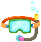 Snorkeling equipment Stock Images