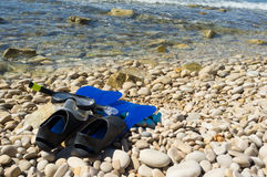 Snorkeling equipment Royalty Free Stock Photo