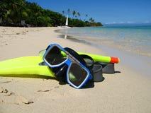 Snorkeling equipment Royalty Free Stock Photos
