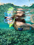 Snorkeling female Royalty Free Stock Photography