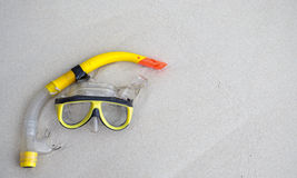 The Snorkeling Glasses Royalty Free Stock Photography