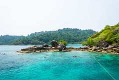 Snorkeling at Koh Chang island. Stock Images