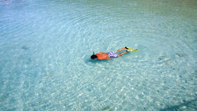 Snorkeling in Koh Chang Thailand Stock Photo