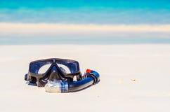 Snorkeling mask Stock Photography