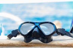 Snorkeling maskerar royaltyfri foto