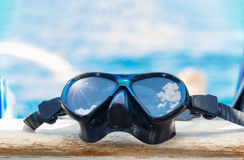 Snorkeling maskerar royaltyfria bilder
