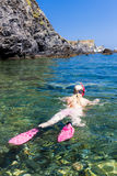 Snorkeling Royalty Free Stock Image