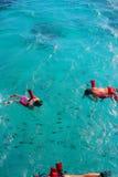 Snorkeling nas Caraíbas Fotografia de Stock Royalty Free