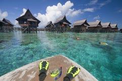 Snorkeling set Stock Photo