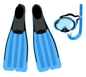 Snorkeling set Stock Photo