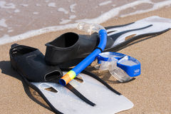 Snorkeling set Stock Images
