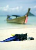 Snorkeling set Stock Images